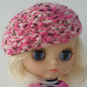 Raspberry Ripple Hat – free pattern