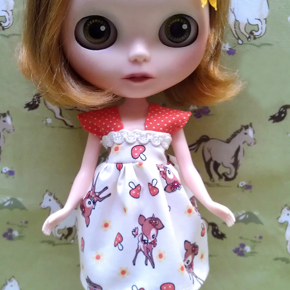 Enoki dress for Blythe