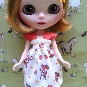 Enoki dress for Blythe