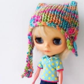 Tutti frutti hat for Blythe