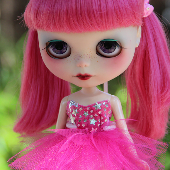 Lucky Star bright tutu set for Blythe dolls