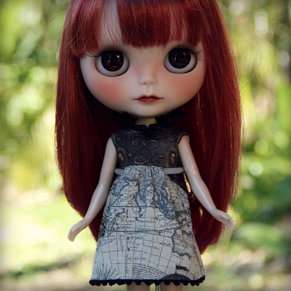 The Explorers Collection: Away dress for Blythe dolls