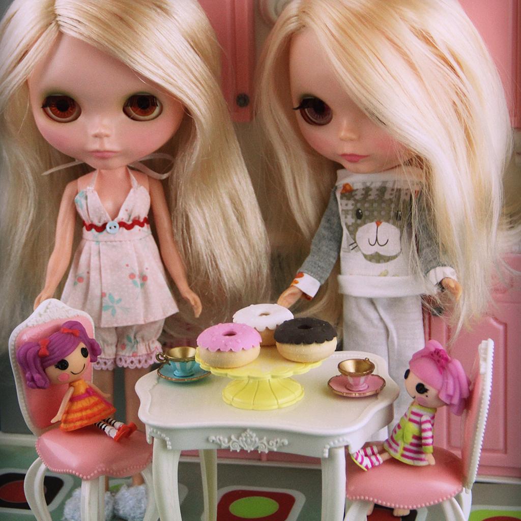 Blythe doll Kenner 1972 blonde sidepart