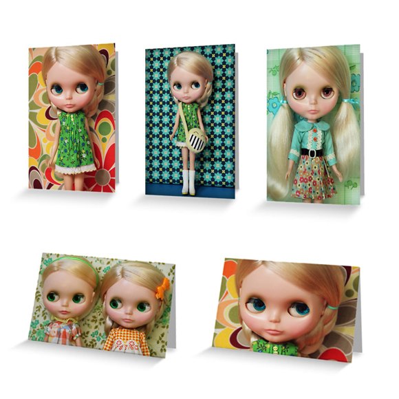 Blythe greeting cards
